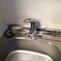 2階ミニキッチン水栓水漏れ